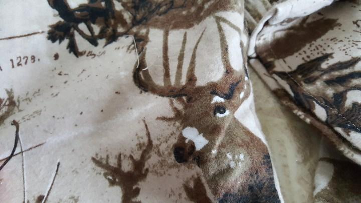Deer flannel pajamas 8