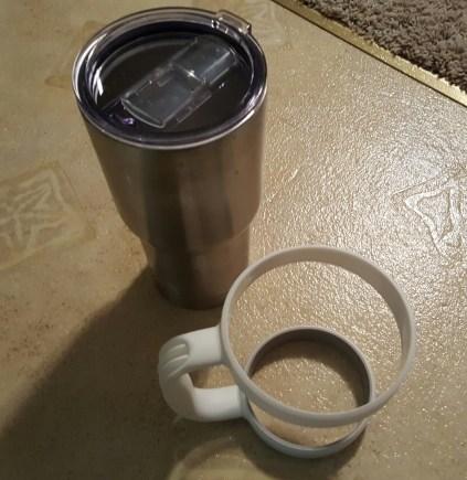 white yeti handle 10