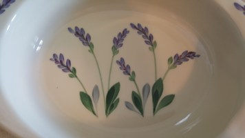 lavender casserle dish 6