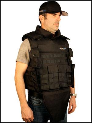 Bulletproof Alpha vest side view