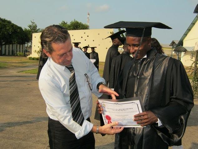 Remise de certificats