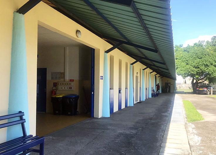 Vue bâtiment ateliers 01
