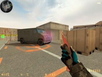 Скачать CS 1.6 со скинами оружия из КС ГО