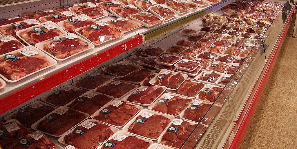 Supermarkt Fleischtheke