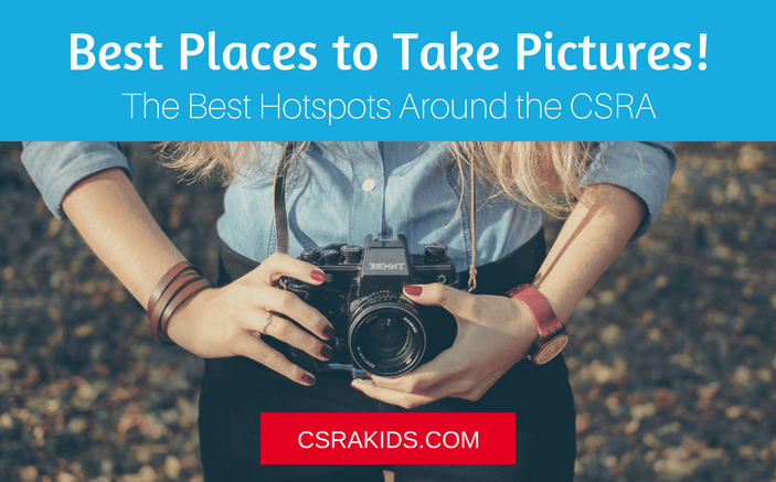 best places to take pictures in the csra