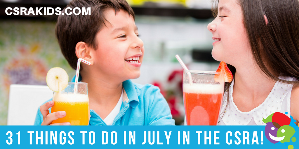 31 Things to do in July