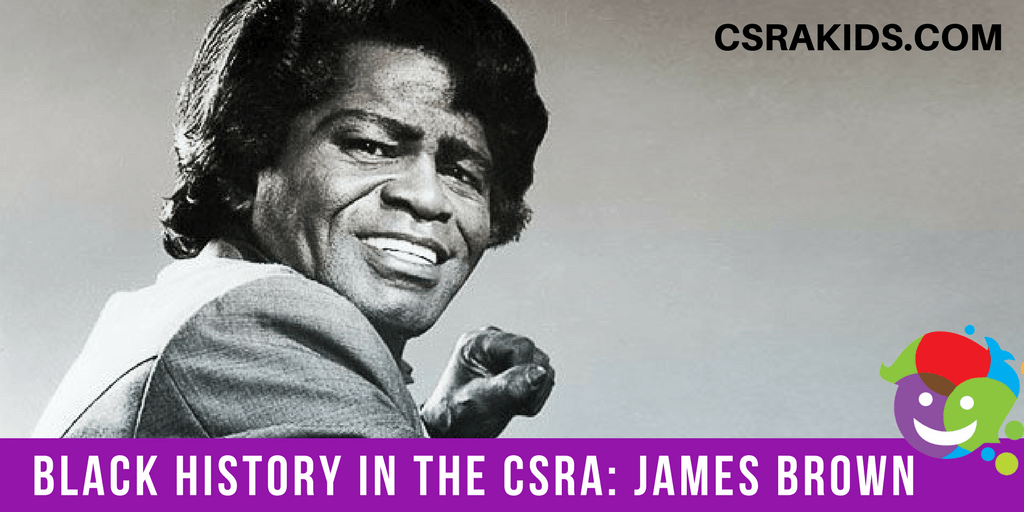 Black History Around the CSRA James Brown