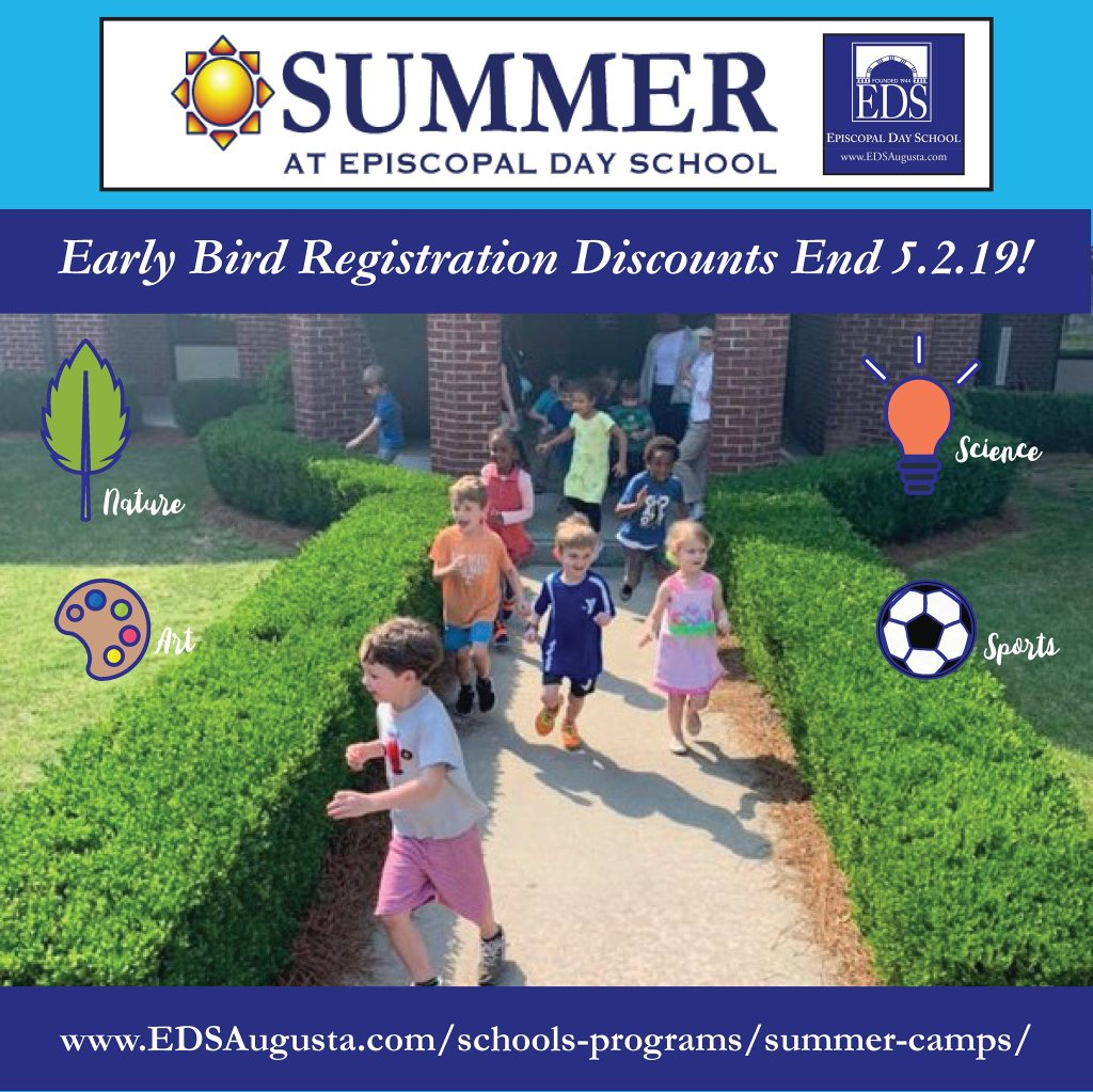 Summer at Episcopal Day School Camp