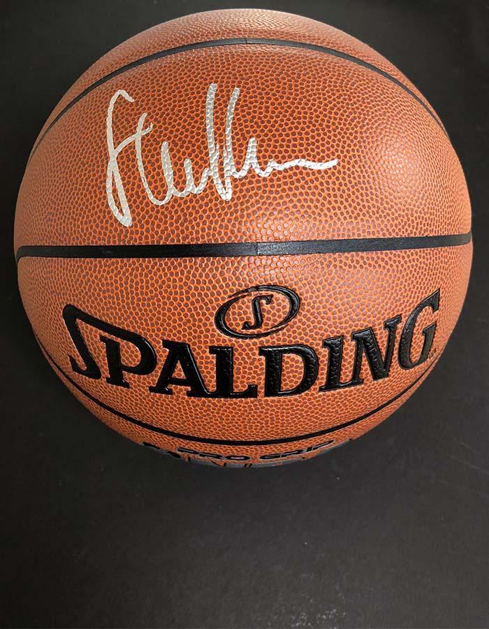 9d8f9283089 Steve Kerr signed Basketball Golden State Warriors