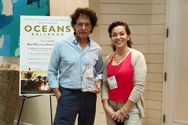 Steven Wyckoff and Zenaida Bough, Best Practices Award winners