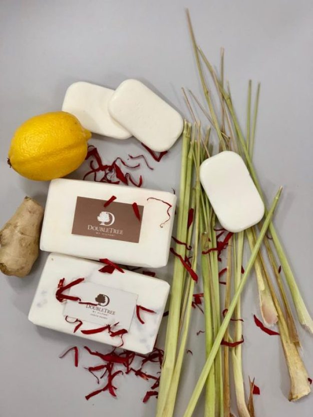 Final product from the Soap making workshop