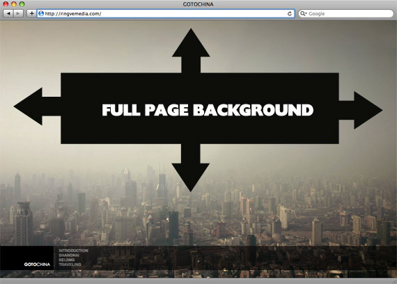 Perfect Full Page Background Image   CSS Tricks Image above credited to this site