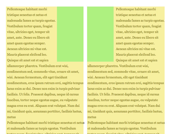 Faking 'float: center' with Pseudo Elements | CSS-Tricks
