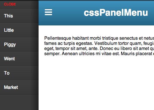cssPanelMenu