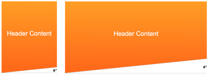 Creating Non Rectangular Headers Css Tricks