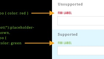 Using Feature Detection to Write CSS with Cross-Browser