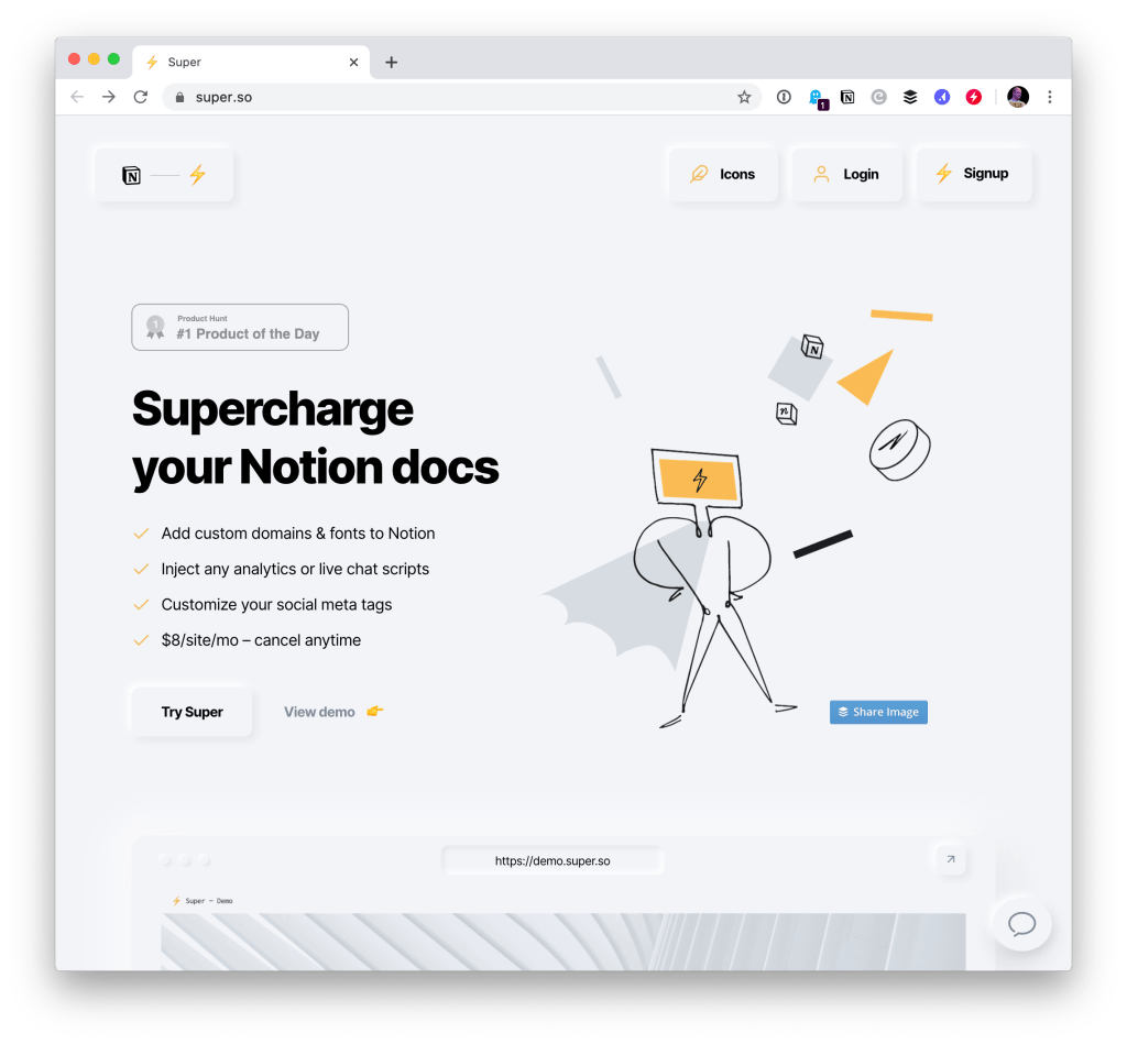 Notion-Powered Websites