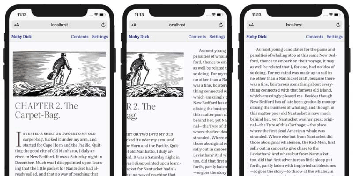 The Trickery it Takes to Create eBook-Like Text Columns 1