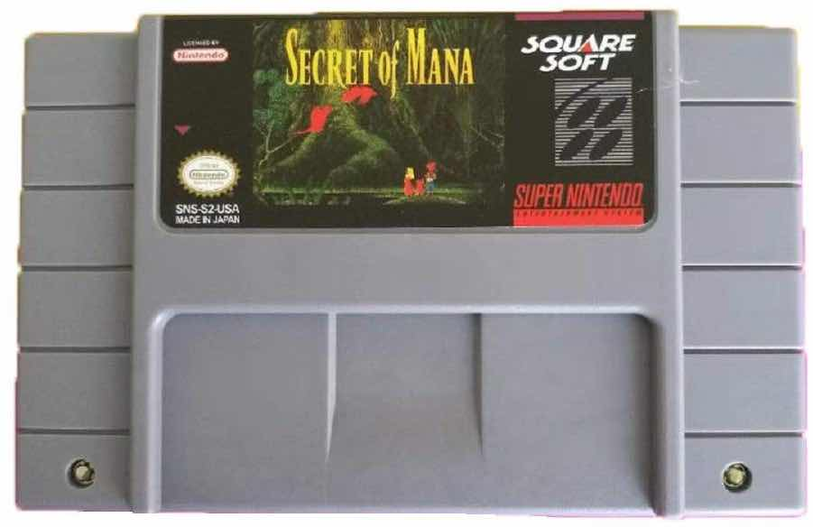 SNES Cartridge for Secret of Mana