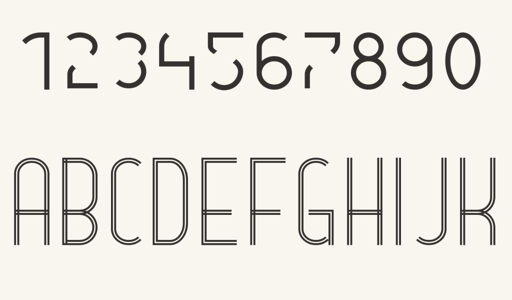 CSS Border Font