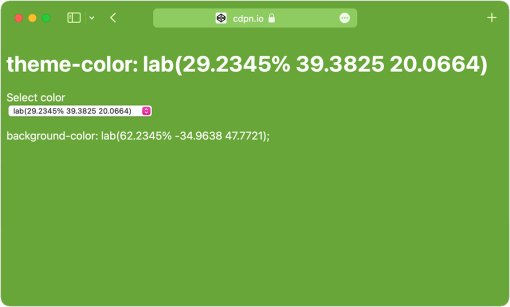 Green webpage with green header.