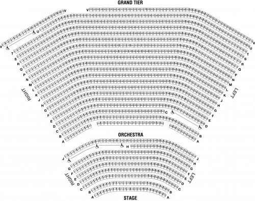 Newlin Hall Norton Center For The Arts - Seating Charts