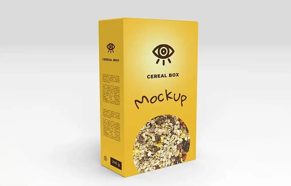 Download Cereal Box Mockup » CSS Author