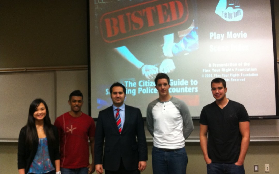 Chapter event:Know Your Rights at the University of Western Ontario
