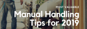 Most Valuable Manual Handling Tips for 2019