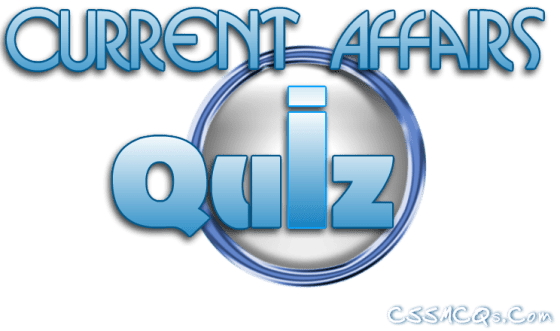 Current Affairs Online MCQS QUIZ
