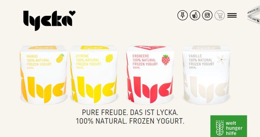 Lycka – Frozen Yoghurt