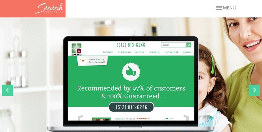 #1 Web Design Company-Stectech