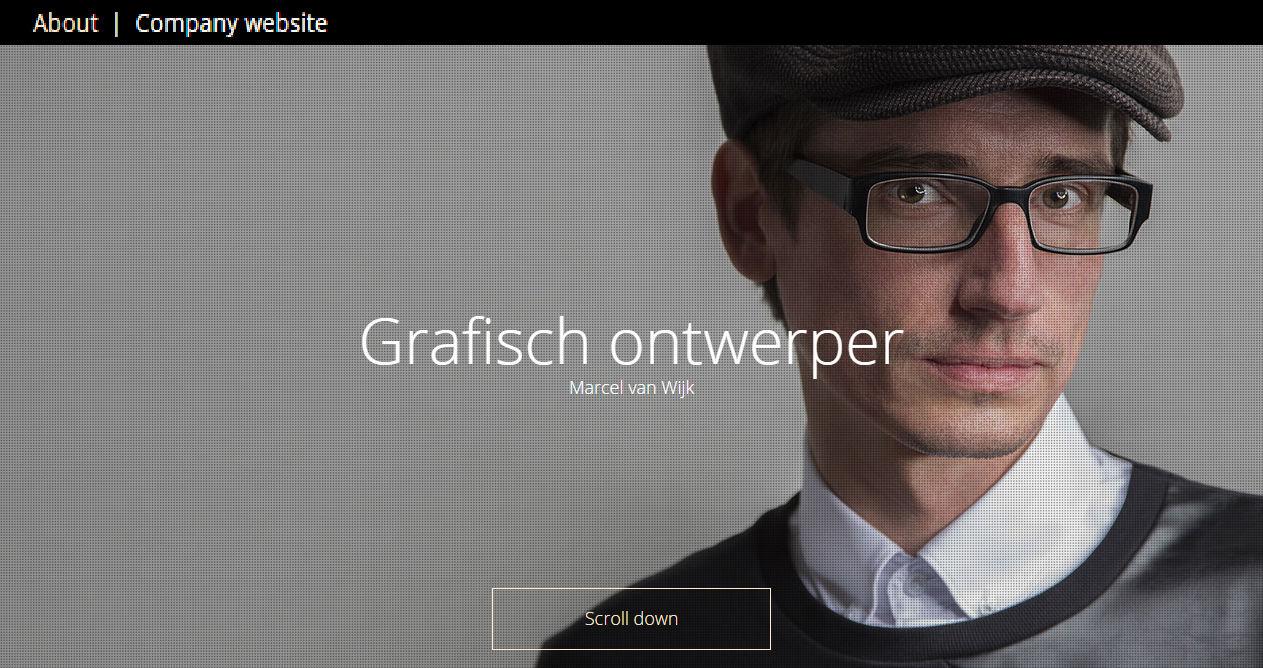 Marcel van Wijk - Grafisch ontwerper - Nederland