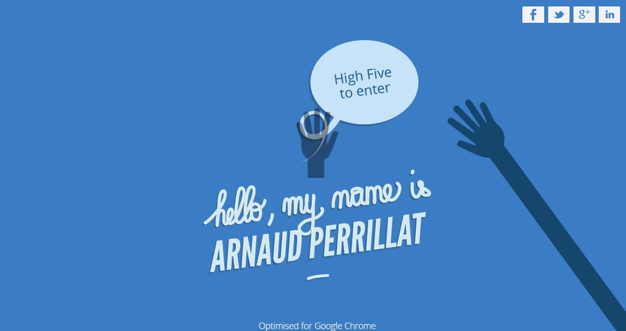Arnaud Perrillat Portfolio