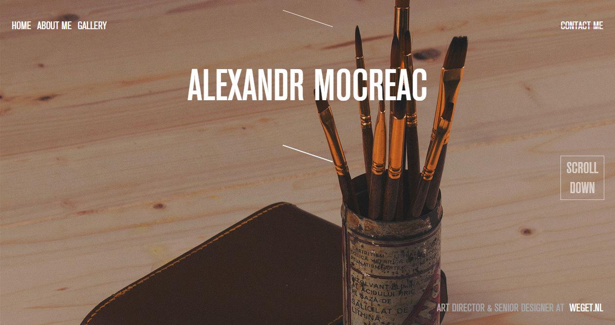 Alexandr Mocreac Portfolio