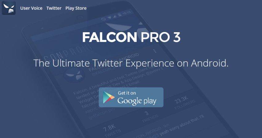 Falcon Pro3 - The Ultimate Twitter Experience on Android