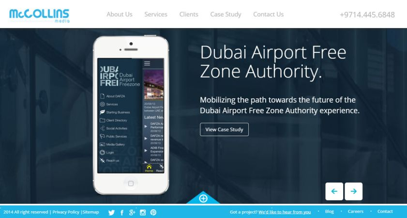 McCollins Media - Digital Media & Web Design Agency Dubai, UAE, Qatar, Kuwait, Saudi, Oman, Bahrain