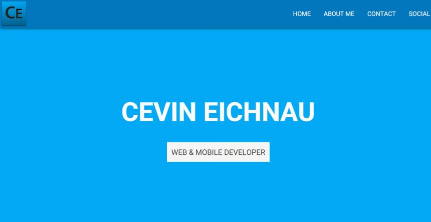 Cevin Eichnau Portfolio