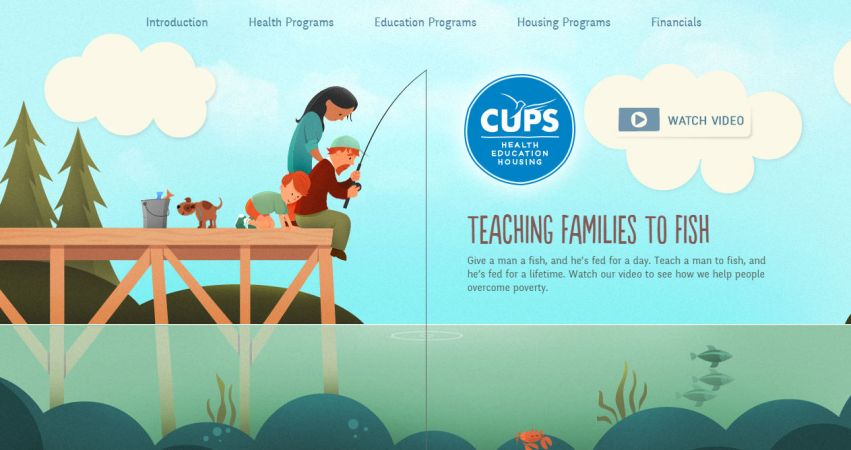 Teaching Families to Fish