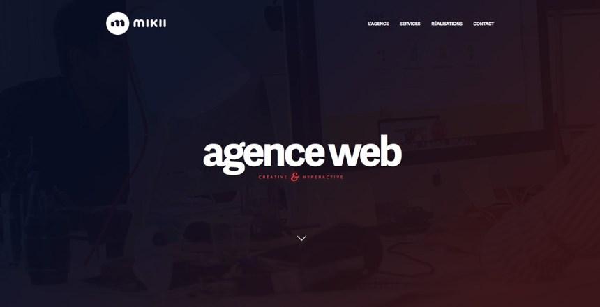 MIKII • Agence web