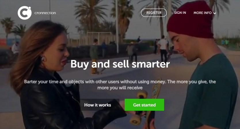 Cronnection, plataforma de consumo colaborativo