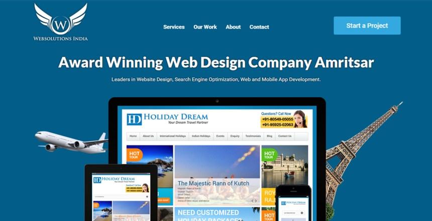 Web Designer Amritsar