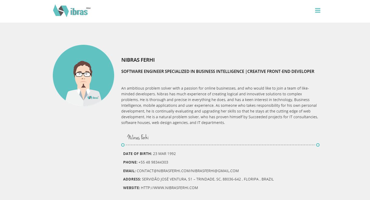 My Portfolio and Resume Online