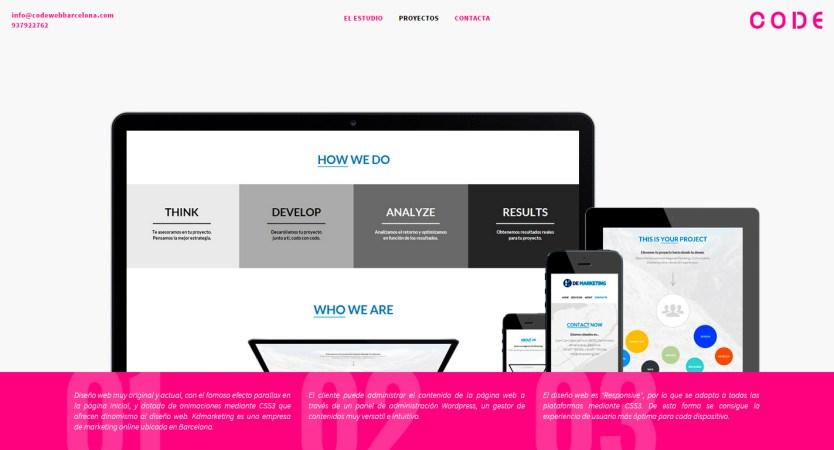 Code web Barcelona