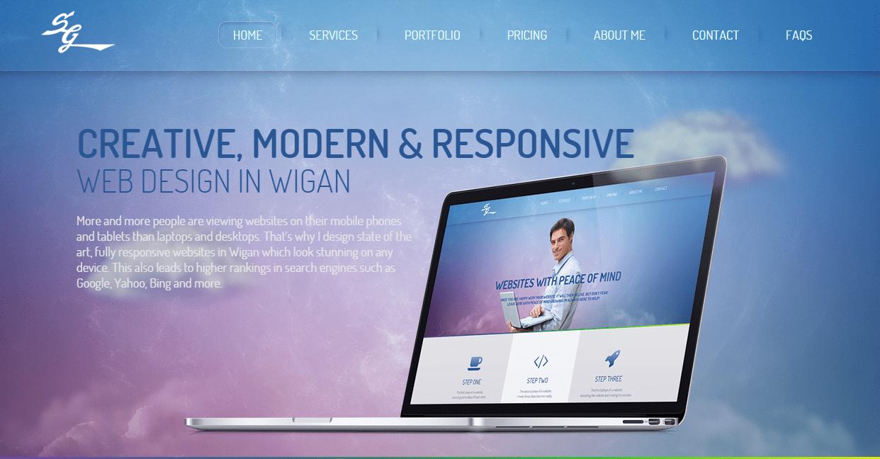 Web Design Wigan — Stuart Green
