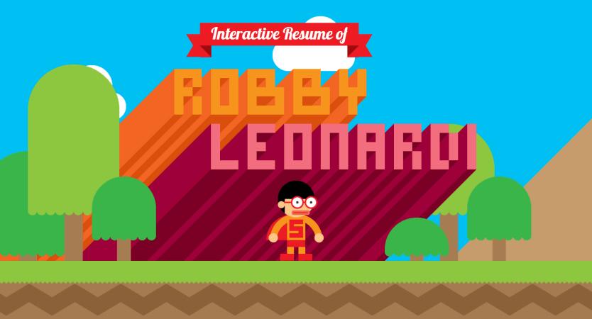Robby Leonardi | Interactive Resume