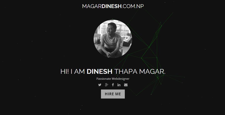 Dinesh Thapa Magar Web Designer