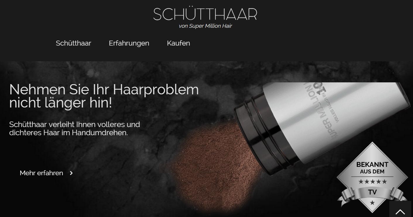 Schuetthaar - Instant hair loss treatment