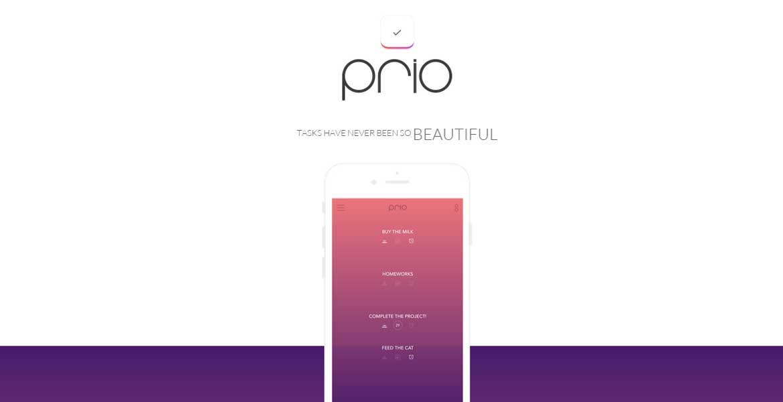 Prio — iOS App