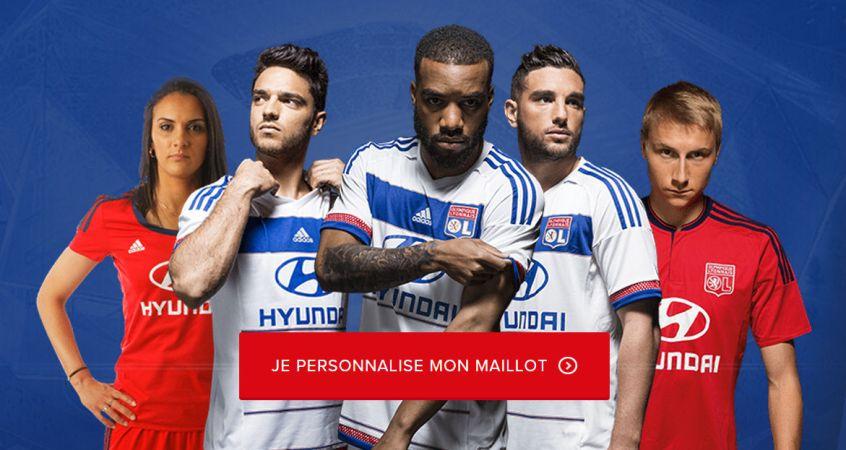 La boutique officielle de l'Olympique Lyonnais